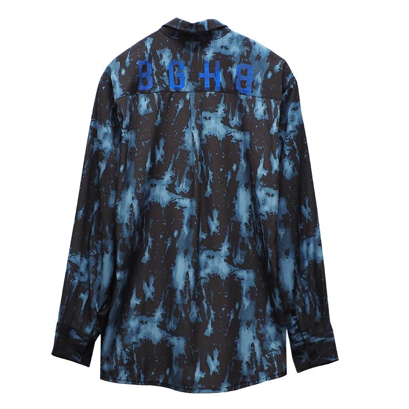 BLUE TIEDYE SHIRTS