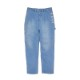 TWO-TUCK WIDE DENIM PANTS
