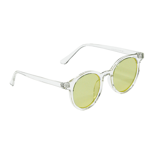 CLEAR YELLOW SUNGLASS