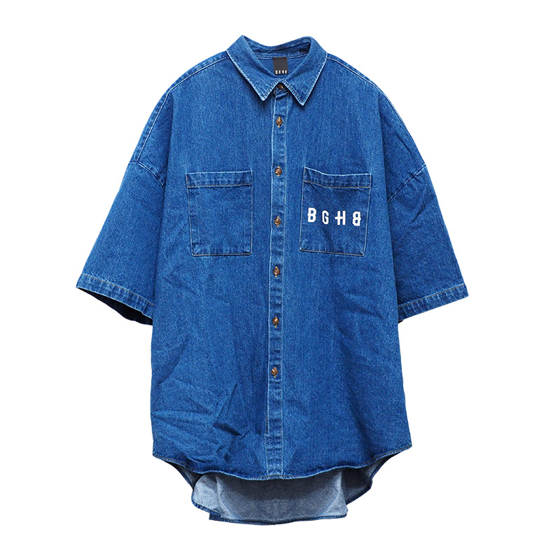 SS DENIM SHIRTS