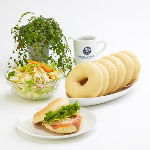 朝食やランチに!カロリーセット(プレーンベーグル7個セット )