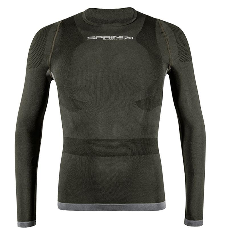 スプリングレボリューション メンズロングスリーブポスチュアルアンダーウェア(姿勢サポートシャツ)