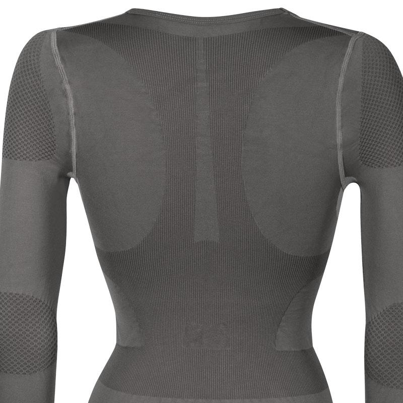 スプリングレボリューション レディースロングスリーブポスチュアルシャツ(姿勢サポートシャツ)