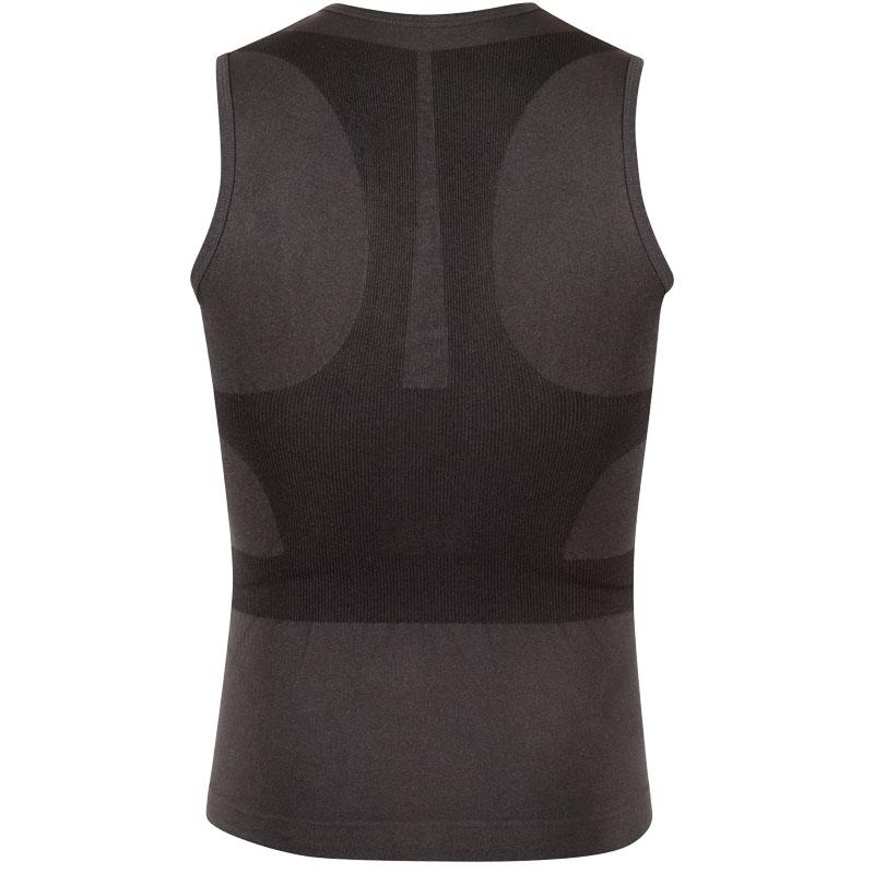 スプリングレボリューション メンズノースリーブポスチュアルシャツ-クール(姿勢サポートシャツ)