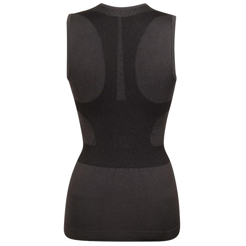 スプリングレボリューション レディースノースリーブポスチュアルシャツ-クール(姿勢サポートシャツ)