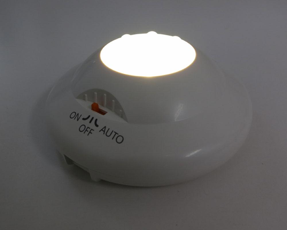 地震 防災 LED ショックセンサーランプ 振動感知 自動点灯 非常用