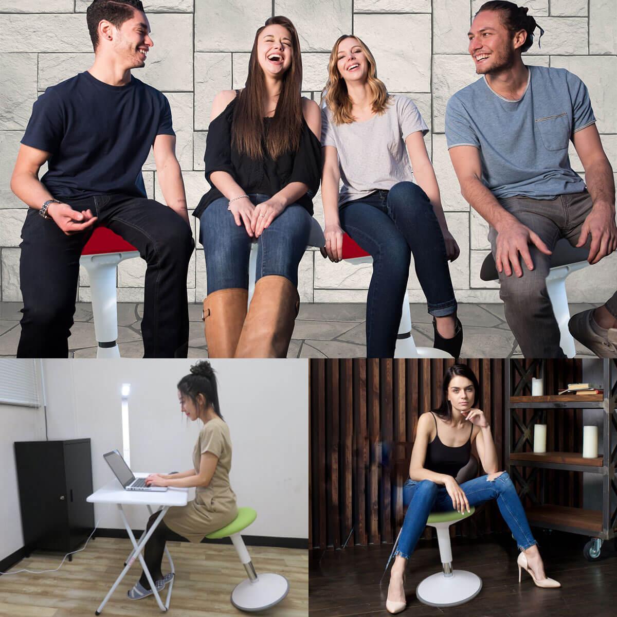 バランスチェア テレワーク 大人 腰痛 子供 姿勢 イージー グラッチェア 椅子 骨盤サポートチェア リモートワーク 小さい フィットネスチェア 在宅勤務 カフェ 喫茶店 1人暮らし 必要なもの