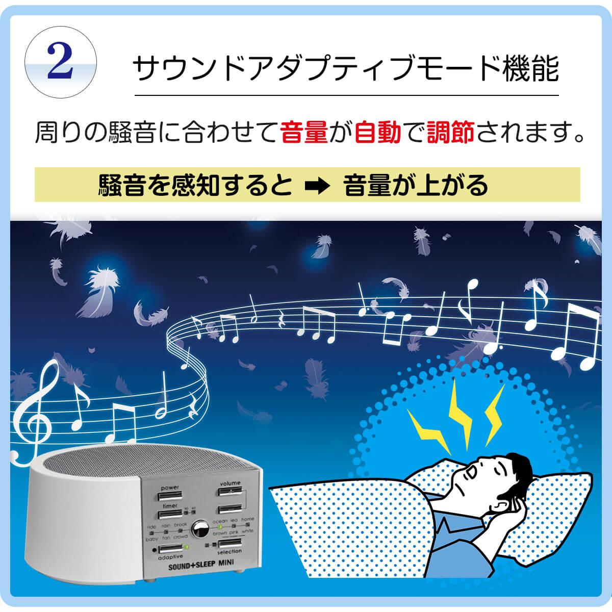 ホワイトノイズ テレワーク 生活音 騒音 排除 不眠 スリープオーディオ ドーミン サウンドマシン 快眠