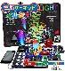 【正規品】 知育玩具 イルミネーション 電脳サーキット イルミナ 電子回路 学べる 電子ブロック 子供 電子玩具 科学 おもちゃ クリスマス