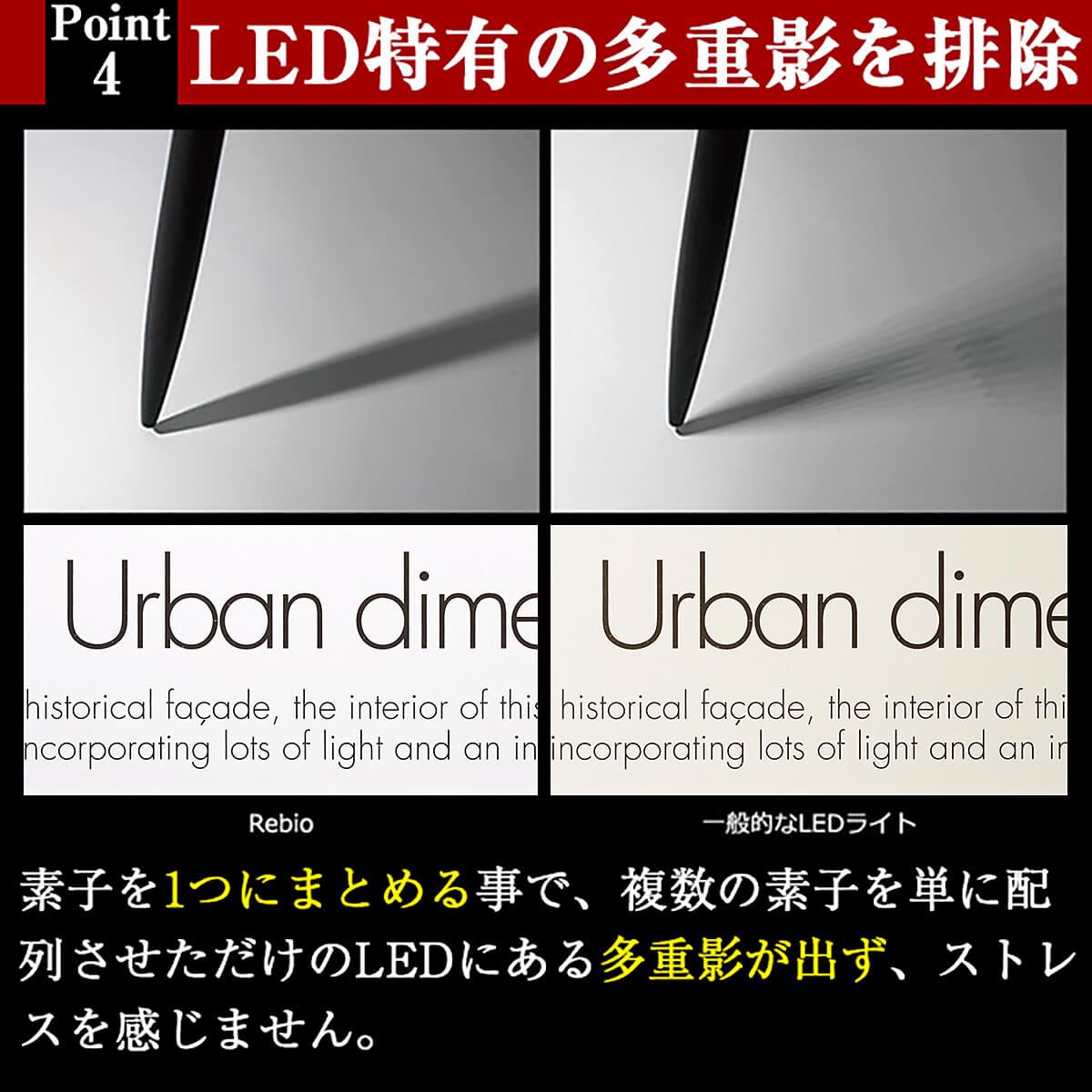 LEDデスクライト Rebio レビオ フロアベースセット スタンドライト LED LEDデスクスタンド 癒し