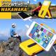 【再生品 新品ではありません】 モバイルソーラー充電器 モバイルバッテリー iPhone/スマホ充電器 どこでもエナジー WAKA WAKA ワカワカ 緊急 災害 キャンプ 行楽 LED ライト