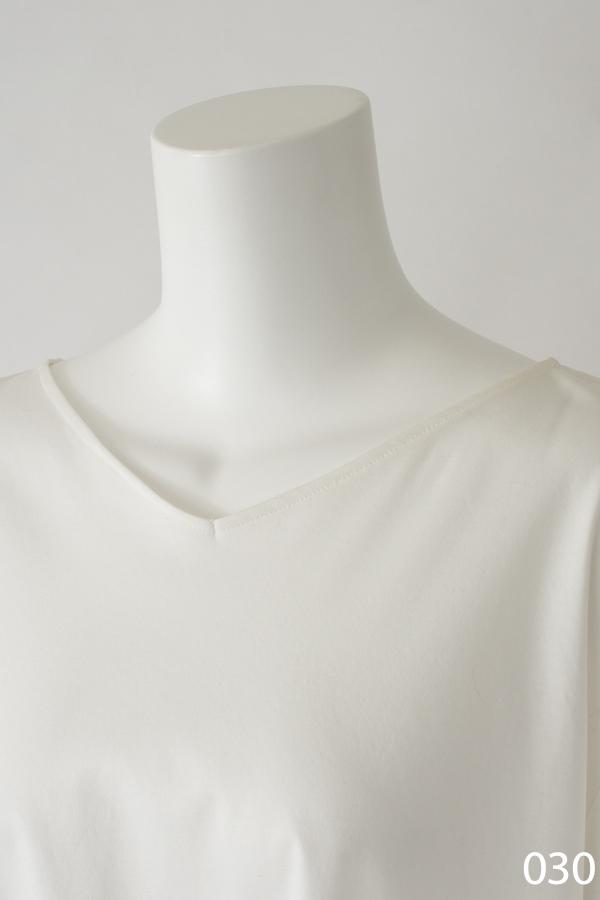 極細コットン糸デザインプルオーバー オフホワイト [CROCE CROSS] PORANA/030