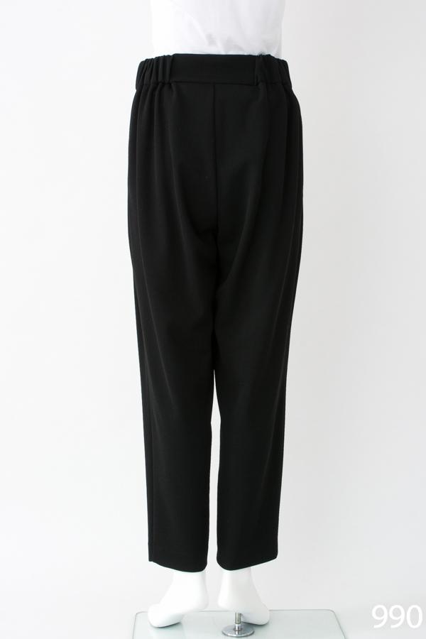 ジャージーパンツ ブラック [CROCE CROSS] GLORENZA/990