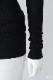 シルクカシミヤリブカーディガン  ブラック [CROCE CROSS] ASOLO/990
