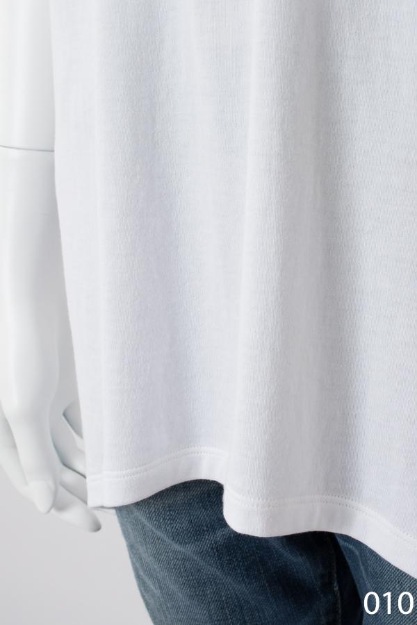 ハイソフトコットン 半袖ゆるTシャツ ホワイト [CROCE CROSS] PRATERIA/010