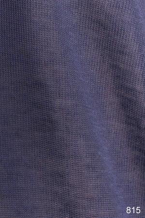 テンセルカシミヤシルク カーディガン グレイッシュブルー [CROCE CROSS] DIAMANTE-X/815
