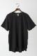 ハイソフトコットン 半袖ゆるTシャツ チャコールグレー [CROCE CROSS] PRATERIA/930