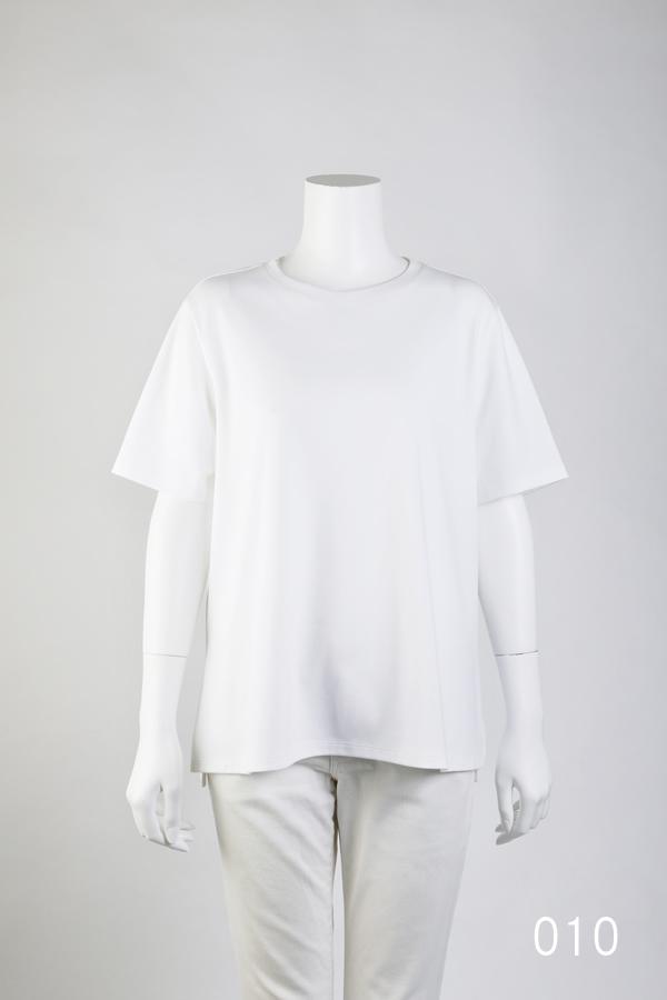 極上コットン ゆるやかAラインTシャツ [CROCE CROSS] GRETA