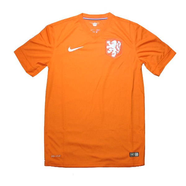 オランダ代表 14 ホーム 半袖 ユニフォーム NIKE 創立125周年/FIFAワールドカップ2014