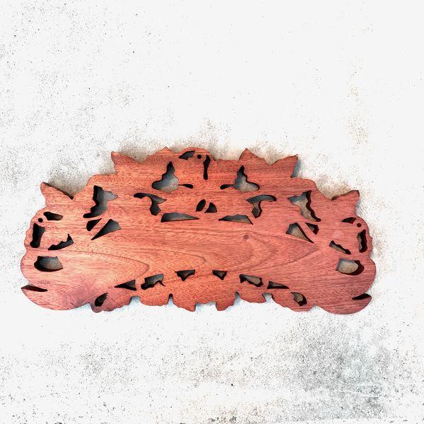 ウエルカムボード/バリ木彫りウエルカムプレート