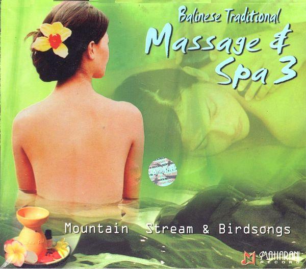 CD【Balinese Traditional/Massage & Spa3】バリ ヒーリングCD/ガムランミュージック/バリ島CD【レターパックOK】