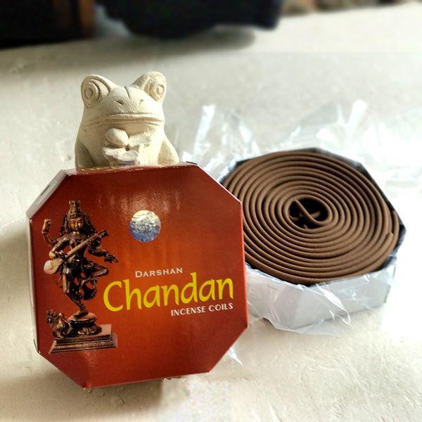 お香/白檀/渦巻き香/チャンダン/Chandan/お香 サンダルウッド/お香・アロマ
