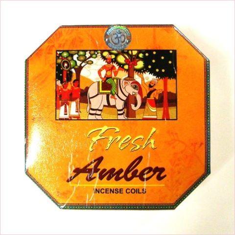 お香/アンバー/竜涎香/Amber/渦巻き香