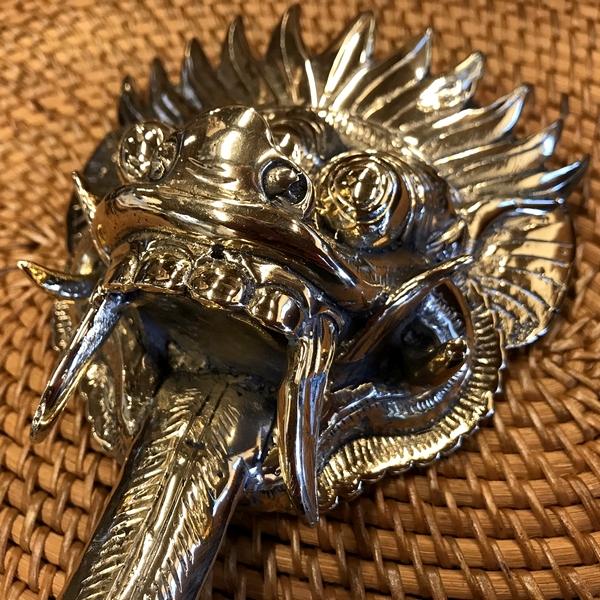 バロンのオブジェ/バロンの置物 【ゴールド】 真鍮製
