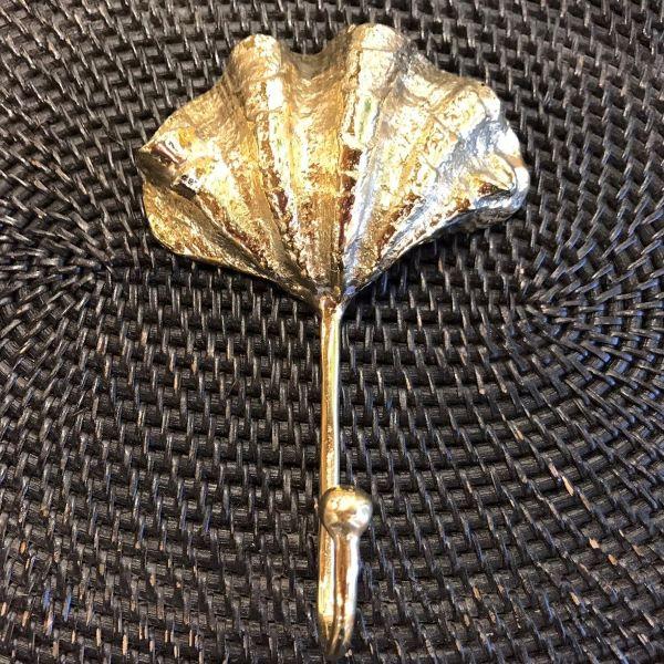シェル(貝殻)のフック/シェルのフック 【ゴールド】 真鍮製 壁掛けフック