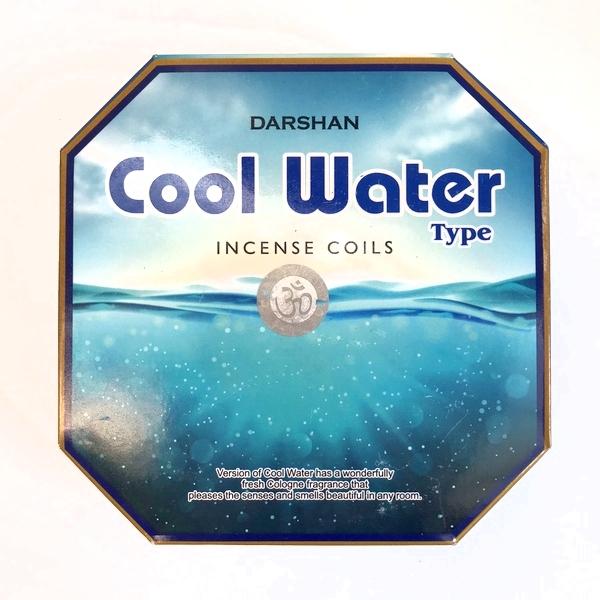 お香 クールウォーター 【Cool Water】 渦巻き香
