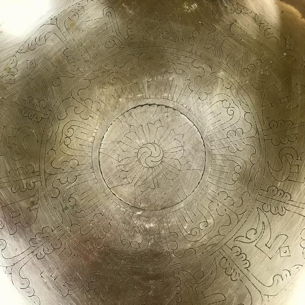 ニュームーンシンギングボウル/7メタル【Φ29cm】【G#】 【保証書付き】サンタ・ラトナ・シャキア工房