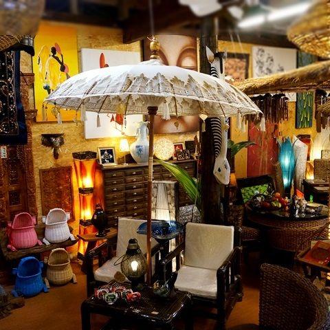 パユン・バリ傘【再入荷】/バリ島の伝統傘/バリ傘 パラソル/リゾートスタイル・BOHOスタイル