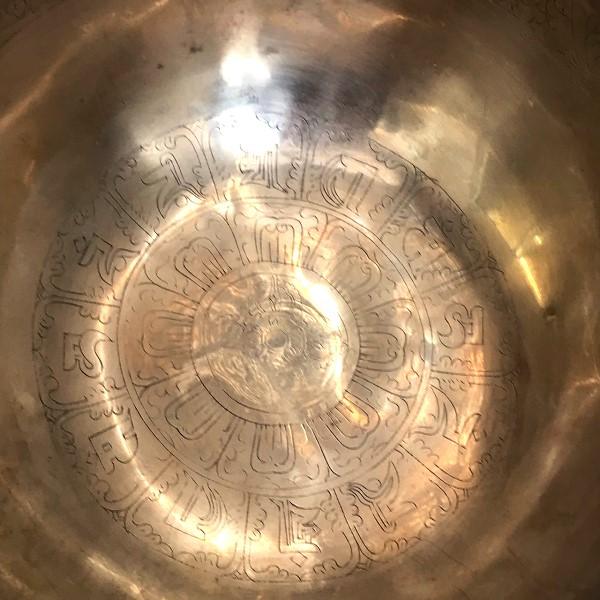 ニュームーンシンギングボウル/7メタル【Φ22cm】【A】【保証書つき】サンタ・ラトナ・シャキア工房
