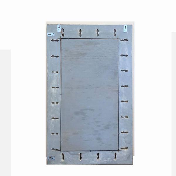 木製レリーフのミラー/ウォールミラー・壁掛けミラー/フラワー/リゾートインテリア/バリ/鏡・ミラー