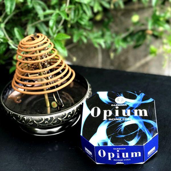 お香/渦巻き香 オピウム/Opium