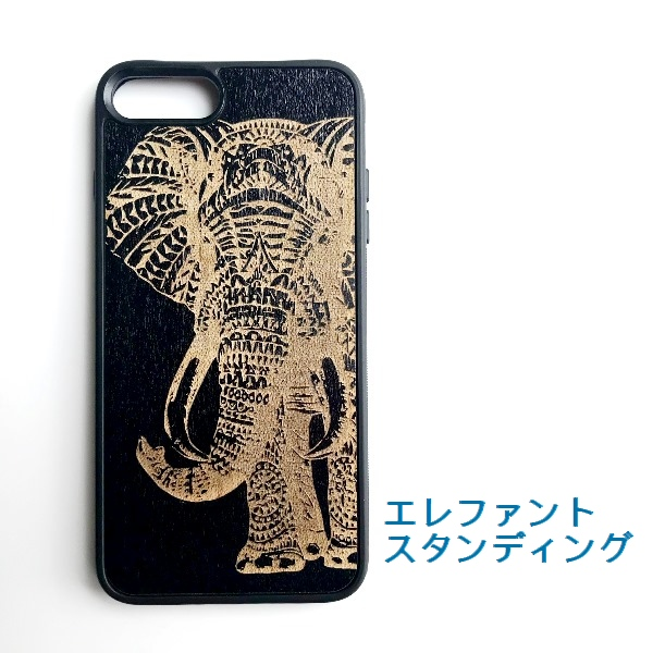 iPhone7Plusケース/ エスニック柄アイフォン7+カバー