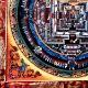 タンカ/手書きタンカ/時輪タントラ/カーラチャクラ/チベット曼荼羅【オレンジ系】