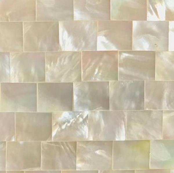 シェルコースター ハイクォリティ 両面キラキラ・スベスベ・トゥルトゥル【パールホワイト】