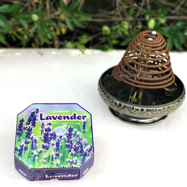 お香/渦巻き香 ラベンダー Lavender