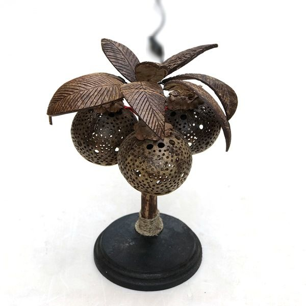 ココナッツライト・椰子の木のランプ・テーブルランプ