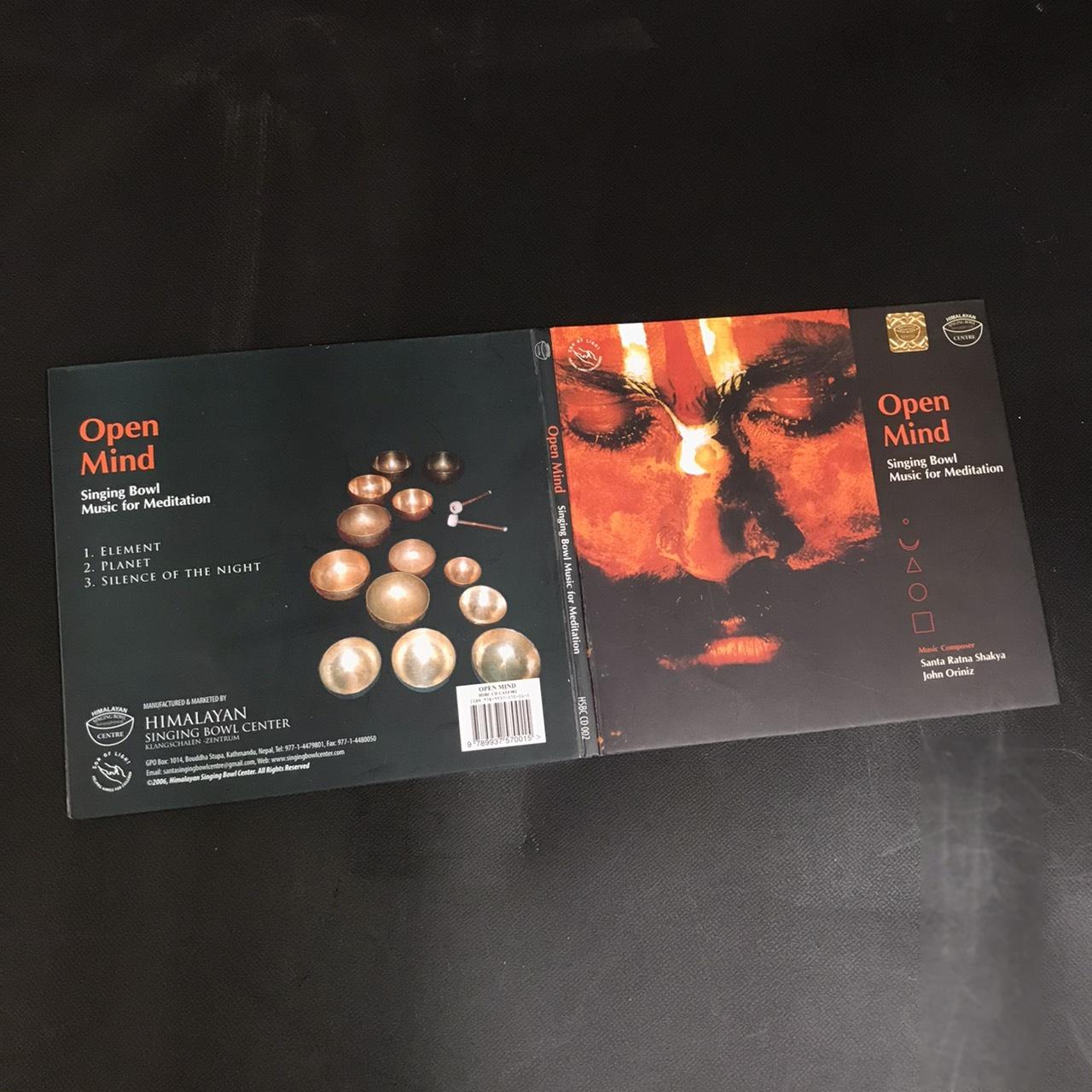 CD【Open Mind】シンギングボールのCD/サンタ・ラトナ・シャキア氏演奏/ヒマラヤンシンギングボールセンター監修【レターパックOK!(4枚まで)】
