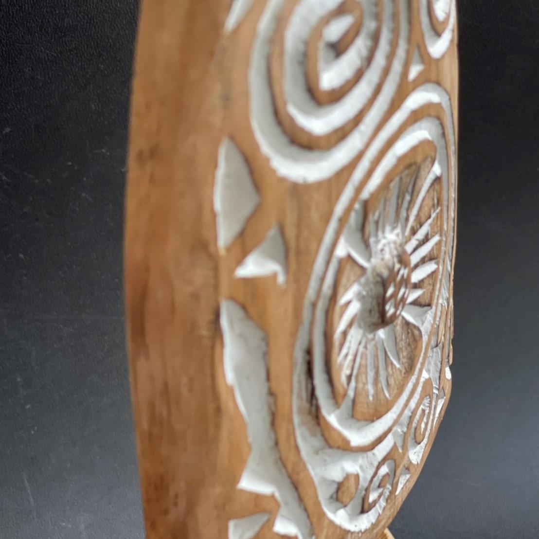 ティモール オブジェ/卓上オブジェ/セイル/帆/木彫り