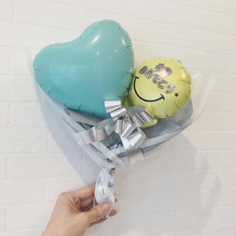 卒園・卒業用 ミニバルーン花束 パステル