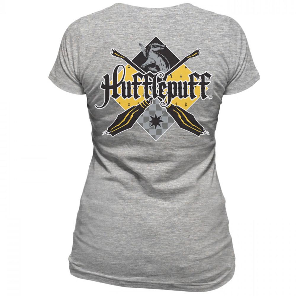 HARRY POTTER ハリーポッター  (『ハリー・ポッターと賢者の石』日本発売20周年記念 ) - HOUSE HUFFLEPUFF / バックプリントあり / Tシャツ / レディース