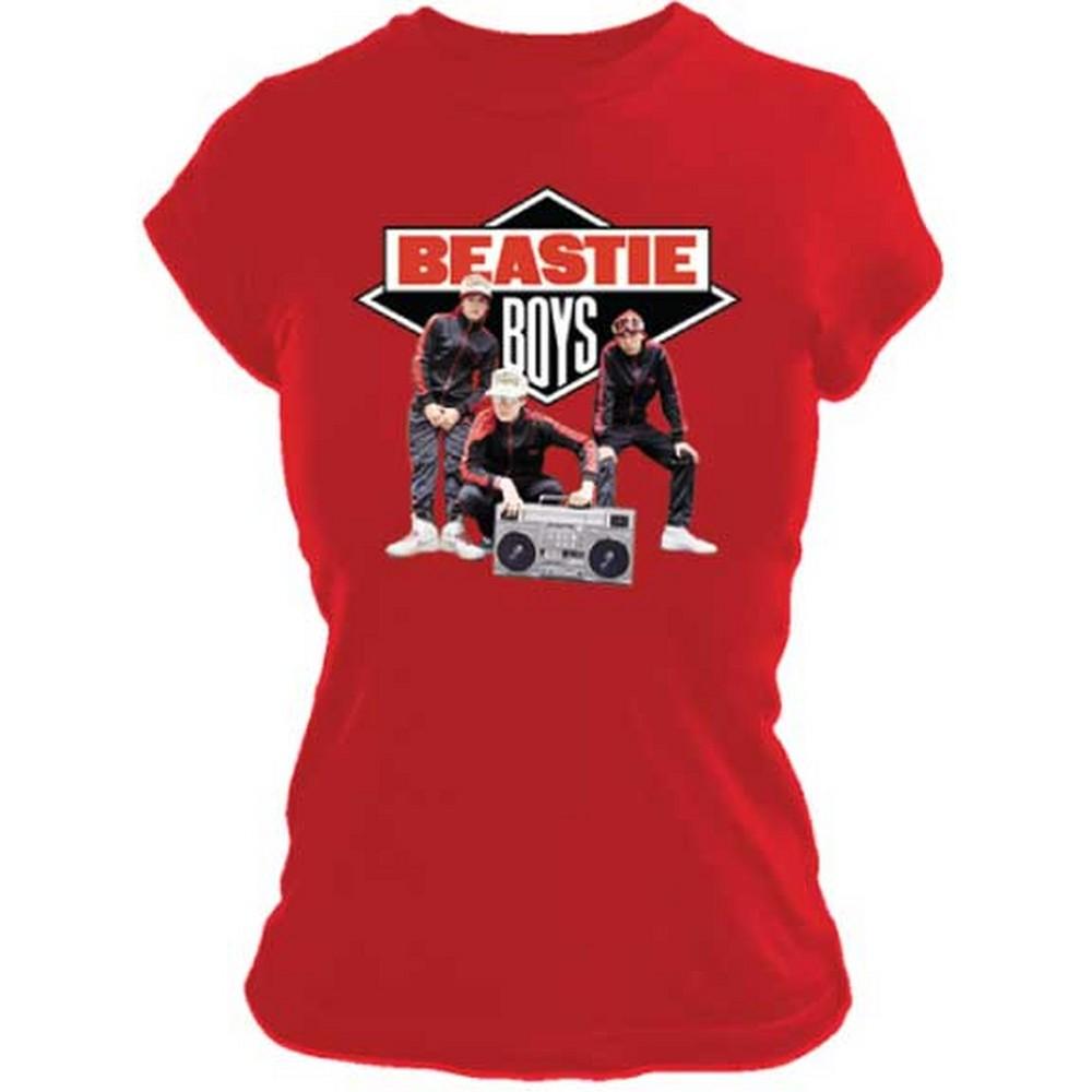 BEASTIE BOYS ビースティボーイズ (映画『Beastie Boys Story』公開 ) - SOLID GOLD / Tシャツ / レディース
