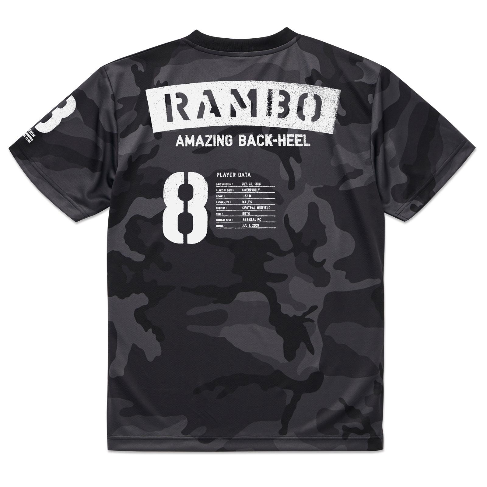 RAMBO ラムジーTシャツ 【数量限定】ドライカモVer.