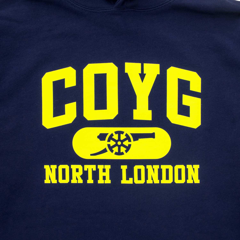 COYG NORTH LONDON プルオーバーフーディー