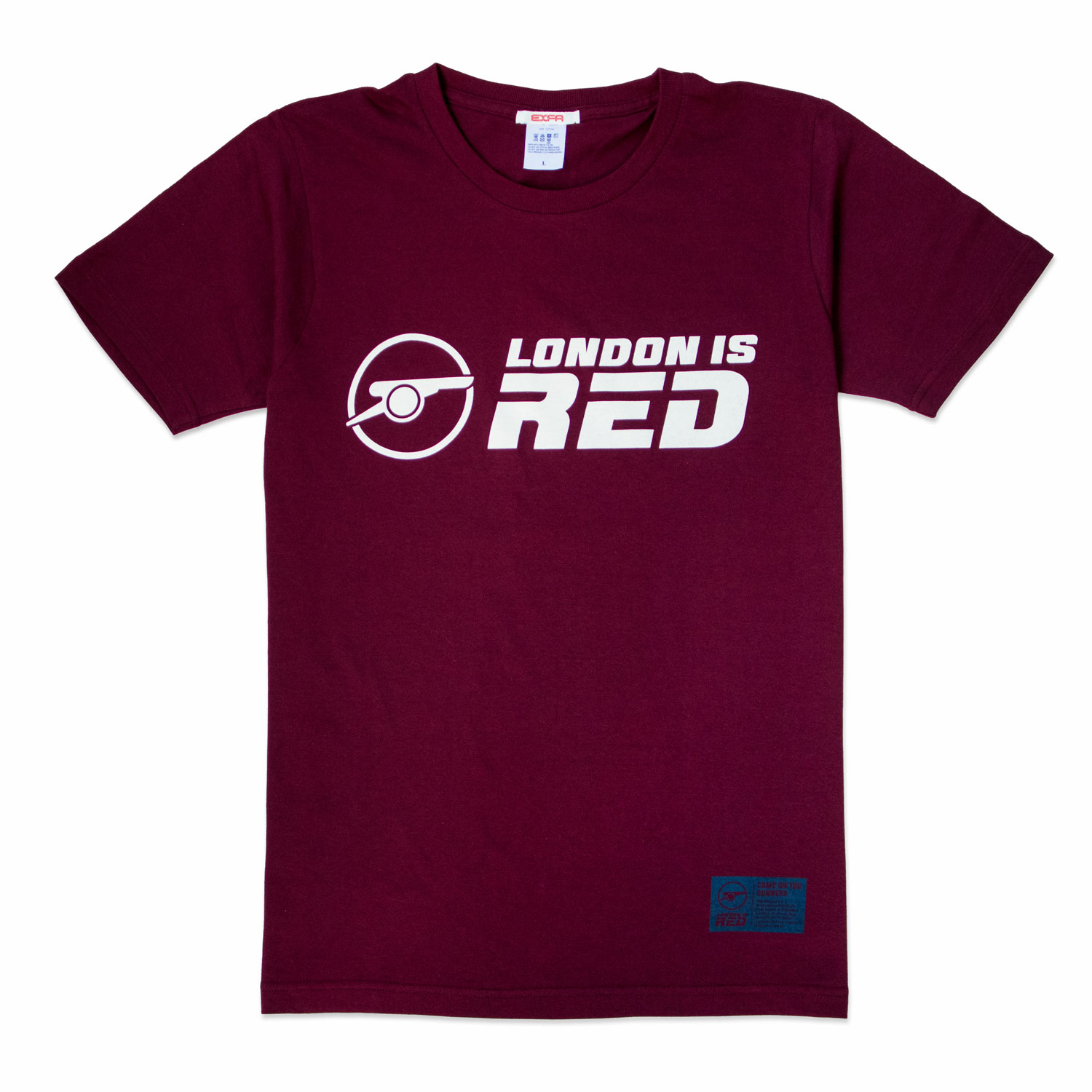LONDON IS RED Tシャツ