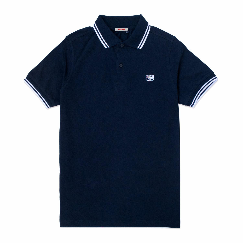COYG ティップライン ポロシャツ