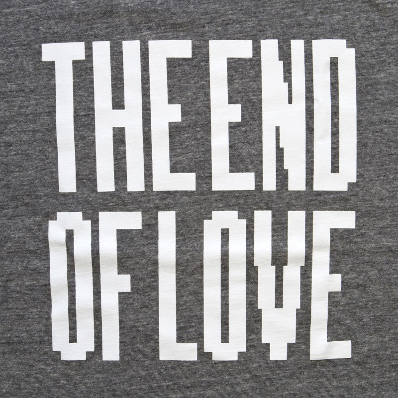THE END OF LOVE 長谷部帰国会見 Tシャツ